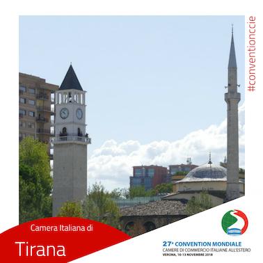 Convention cciaa estere Albania Tirana