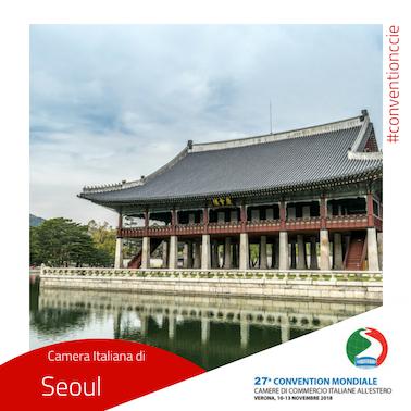 Convention cciaa estere Corea del Sud