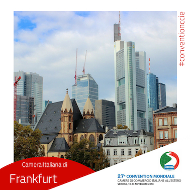 Convention cciaa estere Germania Francoforte