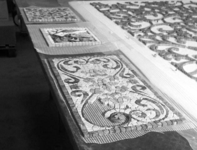 mosaici marmo verona
