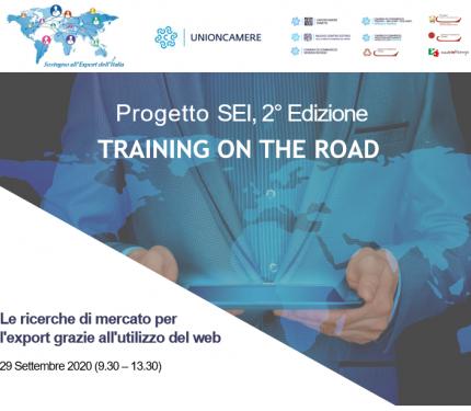 Progetto SEI- training on the road-29 settembre 2020