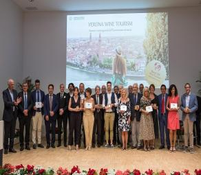 foto imprese premiate Best of Wine Tourism 2020