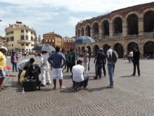 Cinema in Piazza Bra - Verona