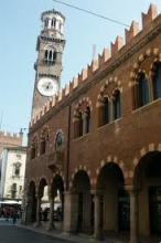 Verona  Domus mercatorum e Torre dei Lamberti