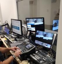 Service multimediale esterno per eventi